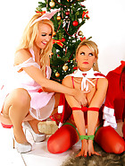 Sex Doll gets a Christmas Stuffing