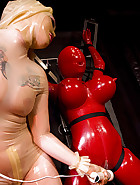 Red rubber boobs, pt.2