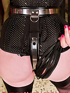 The pink chastity device, pt.1, pic 6