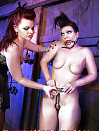 The Lady Susanna Deathstar catches Bloodangels Pupett and Jill trying to outsmart their chastity belts. See in this pictures, how they get a fair punishment., pic 7