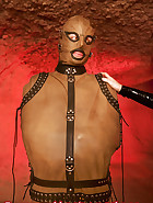Complete rubber catsuit, pic 13