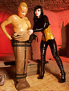 Complete rubber catsuit, pic 7