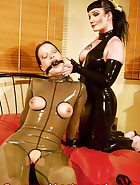 Latex Bondage Play, pic 9
