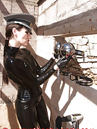 Slave education with chastity belt, pic 2