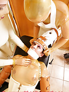 Heavy leather restrainits, pic 12