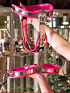 Pink chastity device, pt.2, pic 11