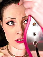 Pink chastity device, pt.2, pic 12