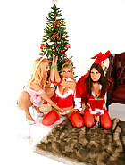 Sex Doll gets a Christmas Stuffing, pic 2